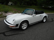 1987 Porsche 911Carrera Convertible 2-Door