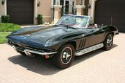 1966 Chevrolet Corvette Convertible L79 350HP BlackRed 4-Speed Side Pi